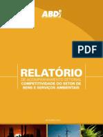 Competitividade do setor de bens e serviços ambientais