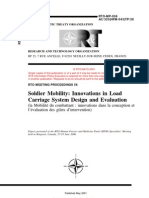 Soldier Mobility-Innovations in Load Carriage System Design and Evaluation