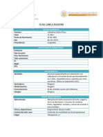 Ficha Clinica 3 Lactante- MDG