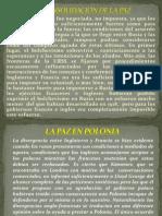 LA CONSOLIDACIÓN DE LA PAZ