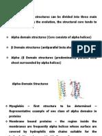 8. Alpha Domain Structure