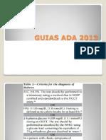 GUIAS ADA 2013