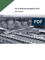 Reflexiones sobre la Reforma Energetica 2013 - Hidrocarburos
