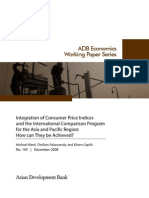 Integration of Consumer Price Indices and the International Comparison Program for the Asia and Pacific Region