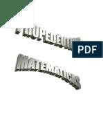 PROPEDEUTICO MATEMATICAS