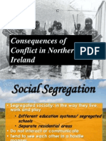 Consequences of conflict in Nothern Ireland