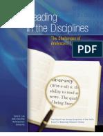 Adolescent Literacy Paper