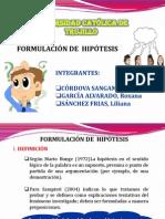 HIPOTESIS DIAPOSITIVAS