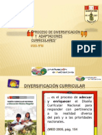 Adaptacion Curricular SECUNDARIA