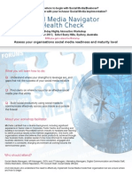 Social Media Navigator Health Check