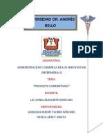 TRABAJO DE ADMINISTRACIÓN II