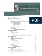 Sector Environment Report 2006