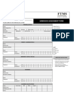 R02 - FTMS Assessment Form
