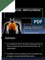 Resistencias ventilatorias