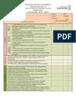 Formato Evaluar Aprendizajes Esperados 2011