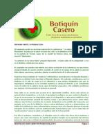 Plantas Medicinales Botiquin Casero Un Tratado de Microdosis