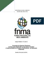 EDITAL FNMA 01-2013