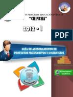 XII PARTE GUÍA DEL ASESOR 2012