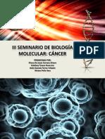 Diapositivas de Cancer 2013