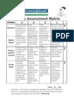 Qnews Assessment Matrix Kua and Dominic
