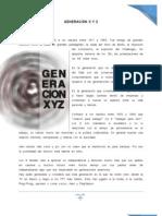 GENERACIÓN X Y Z