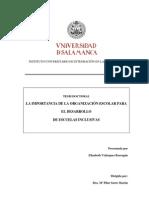 Velazquez 2010 Laimportanciadlaorganizacionescolar-Investigacion Evaluativa Tesis