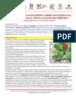 Semillas de Ginseng Americano, Stevia, Hierba de San Juan y Equinacea y Muchas Mas!! Junio 2013