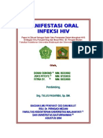 Manifestasi Oral Infeksi HIV