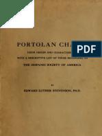 Portolan Charts Their Origins and Characteristics