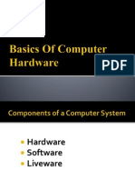 01. Basics of Computer Hardware