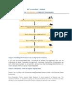 LLP Incorporation Procedure