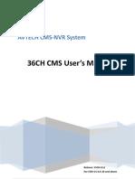 CMS UserManual 36 Standard