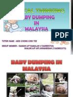 Baby Dumping in Malaysia