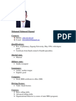 Mohammad ElGamal CV