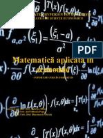 Matematica Aplicata in Economie