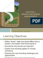 Lecture 1 - Intro to Brands and Brand Management
