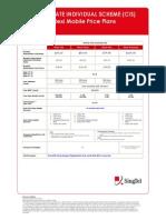 1 iFlexi Price Plan Jul 09