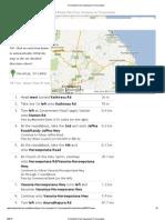 Directions From Vavuniya to Trincomalee