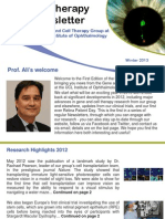 EyeTherapy Newsletter Winter 2013
