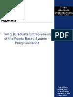 Tier1 Graduate Entrepreneur