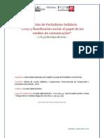 X Periodismo Solidario 2013