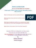 VISION Goal Sheet