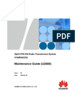 RTN 950 Maintenance Guide (U2000)-(V100R002C00_05)