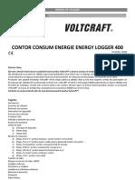 Contor Consum Energie Voltcraft