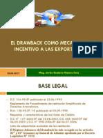El Drawback Como Estimulo a Las Exportaciones 2012