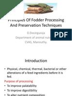 Fodder Processing