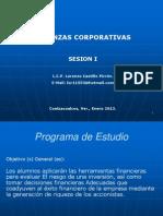 Presentacion Finanzas Corporativas 1ra Sesion