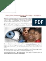 Cataract, Retina, Glaucoma and Laser device Eye Surgeries at eye hospitals in Vijayawada