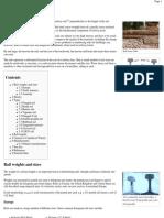 Rail Profile - Wikipedia, The Free Encyclopedia