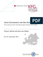 Good Governance and Bad Neighbors? The Limits of the Transformative Power of Europe